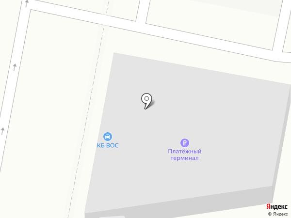 ВОС на карте Подольска