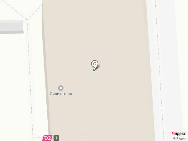Силикатная на карте Подольска
