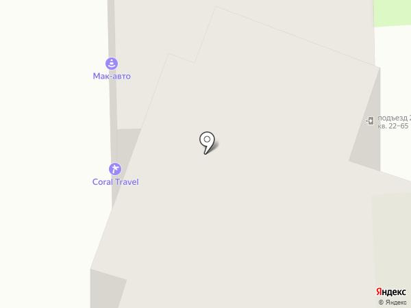 ВСриэлти на карте Москвы