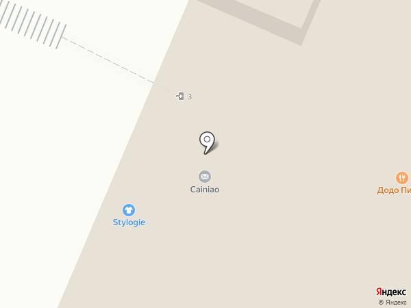 Магазин картин на карте Москвы