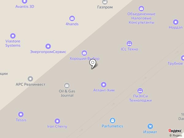 LinkProfit на карте Москвы