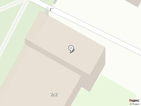 Новодевичье кладбище на карте Москвы