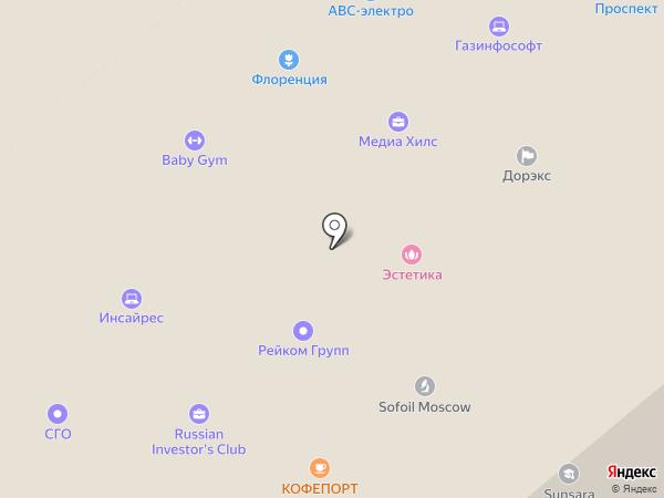 FOOTY на карте Москвы