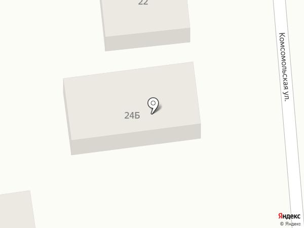 Раевская мебельная фабрика на карте Новороссийска