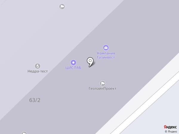 Российский государственный университет нефти и газа им. И.М. Губкина на карте Москвы