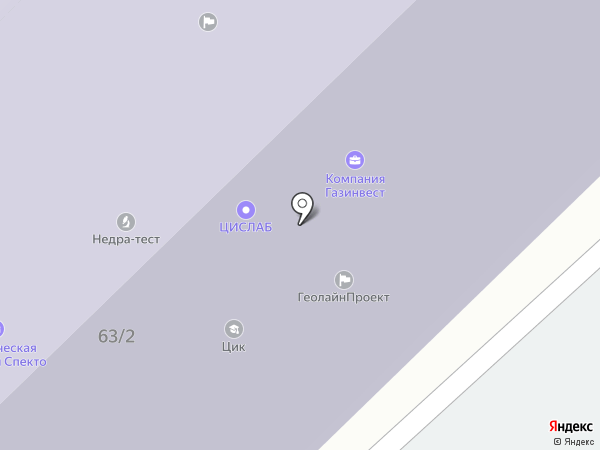 Химеко-ГАНГ на карте Москвы
