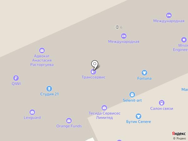 WTC Fitness на карте Москвы