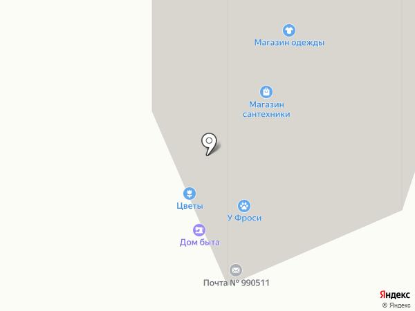 Магазин посуды и товаров для дома на карте Москвы