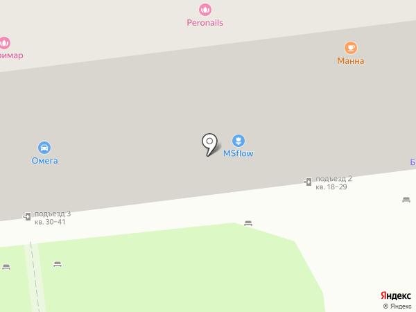 Студия Красоты Ульяны Васильевой на карте Москвы