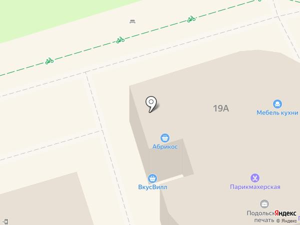 Магазин швейной фурнитуры на карте Подольска