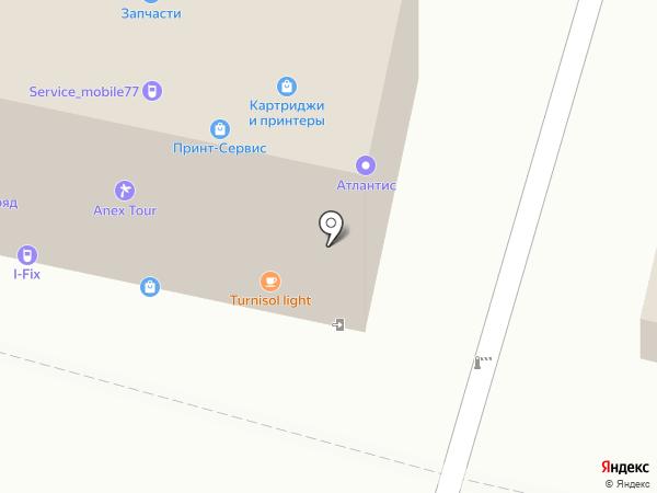 Магазин шин на карте Москвы