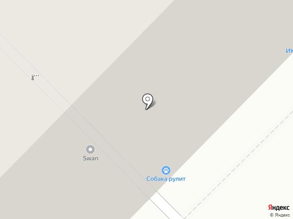 Лес-сиб на карте Москвы