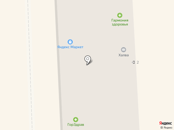 Адванс на карте Подольска