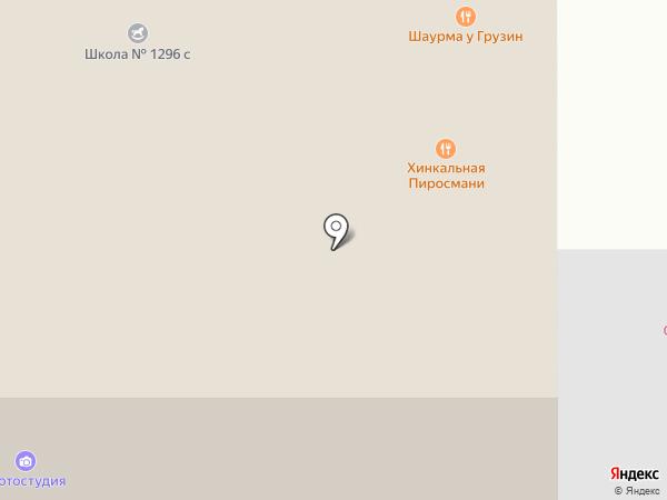 Фотостудия на Дубнинской на карте Москвы