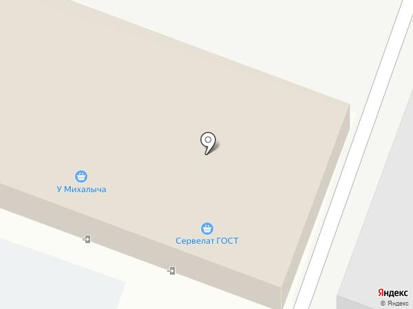 У Михалыча на карте Подольска