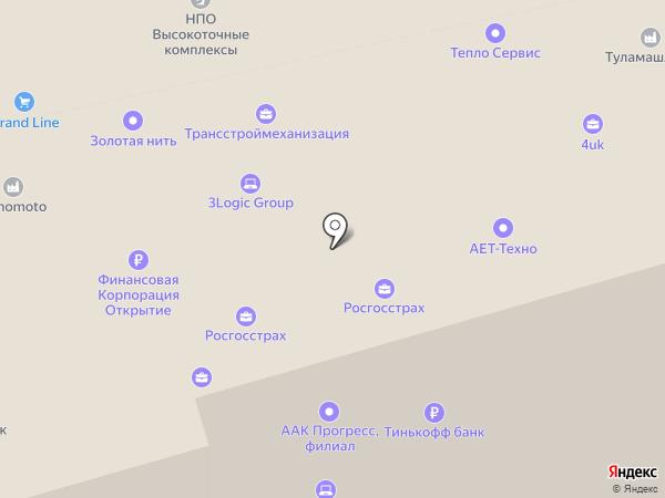 Доберман на карте Москвы