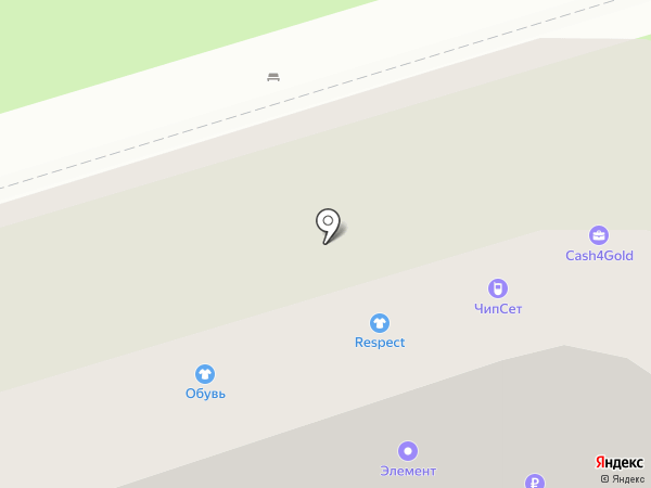 Chipset на карте Подольска