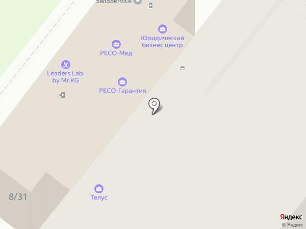 Элайнс на карте Москвы