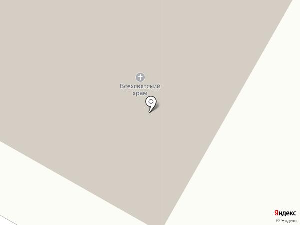 Храм Всех Преподобных Отцев Киево-Печерских в Старых Черемушках на карте Москвы