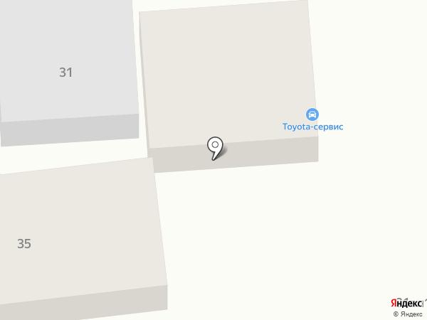 Тойота-Сервис на карте Тулы
