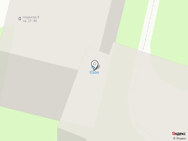 Портал на карте Подольска