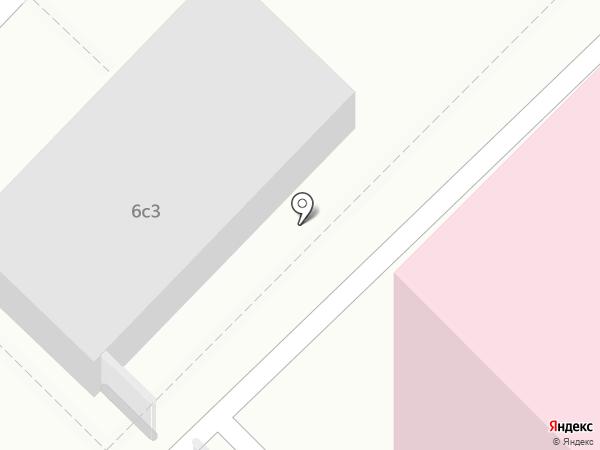 Родильный дом №25 на карте Москвы