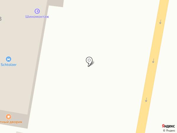 Уютный Дворик на карте Подольска
