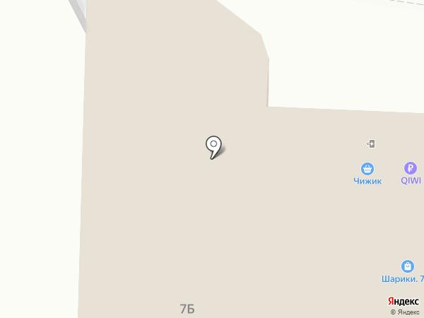 Магнит на карте Тулы