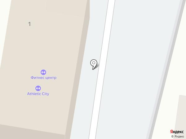 Athletic City на карте Подольска