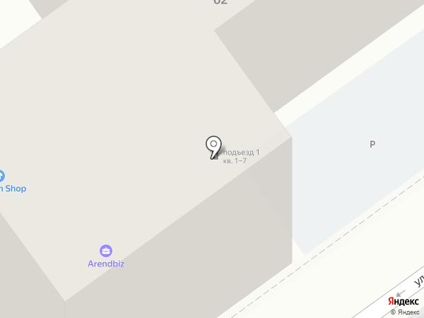 Отделение по делам несовершеннолетних Отдела МВД России по району Хамовники на карте Москвы