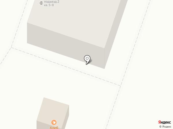 Киоск по продаже молочных и хлебобулочных изделий на карте Подольска