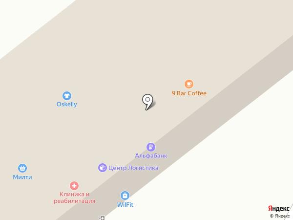 ЛогиКа на карте Москвы