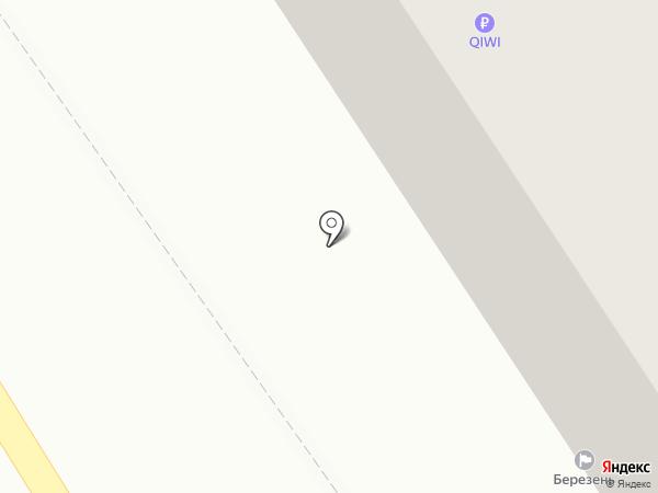 Березень на карте Тулы