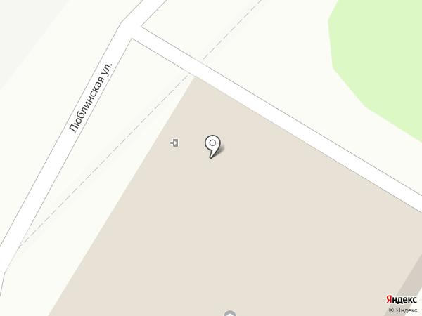 ДЮСШ на карте Щербинки