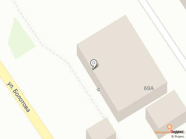 Киоск по продаже овощей и фруктов на карте Тулы