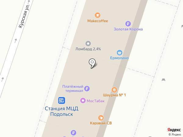 Фаст Финанс на карте Подольска