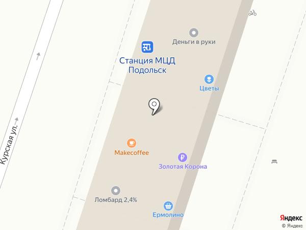 Интим Хаус на карте Подольска