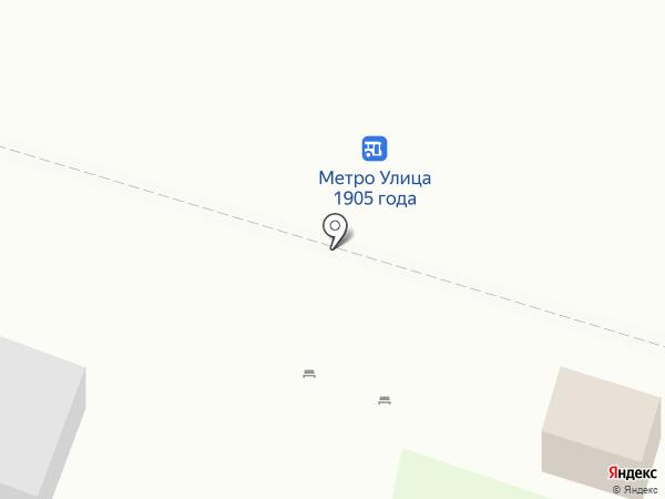 Краснопресненское агентство печати на карте Москвы