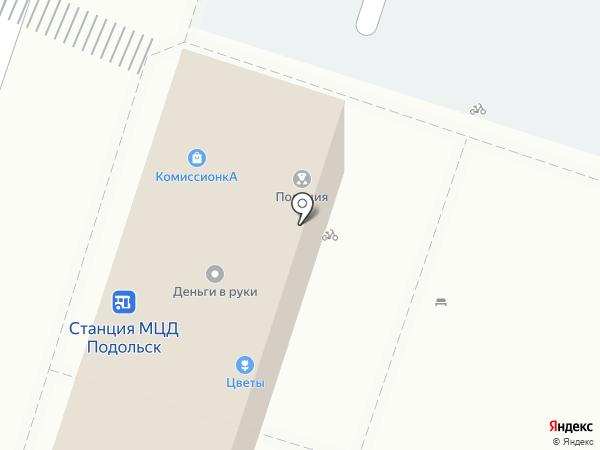 Анастасия на карте Подольска