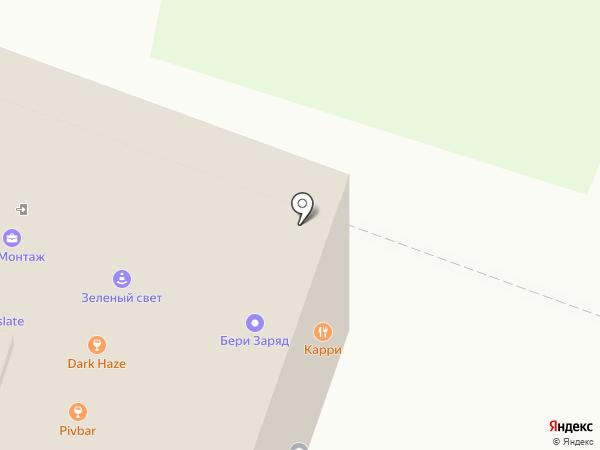 Донер гриль на карте Москвы