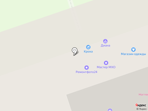 Тамбовский и Ивановский трикотаж на карте Москвы