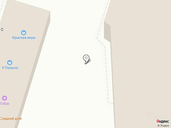 Сетунь на карте Подольска