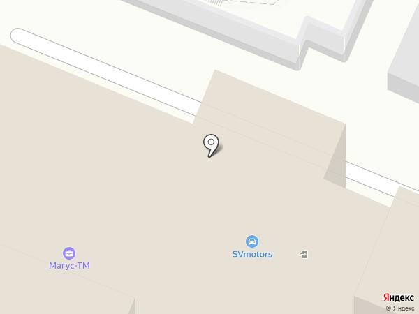 ОКНАЛЮКС на карте Москвы
