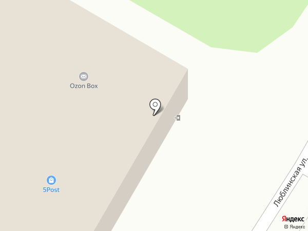 Пятерочка на карте Щербинки