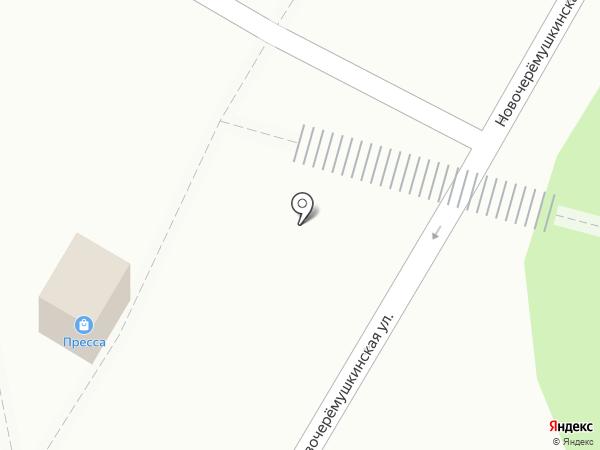 Антарес на карте Москвы