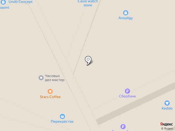 Платежный терминал, Банк Воронеж на карте Москвы