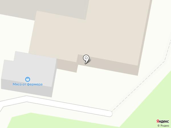 Мясная лавка на карте Подольска