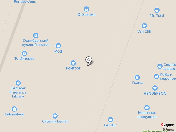 Caterina Leman на карте Москвы