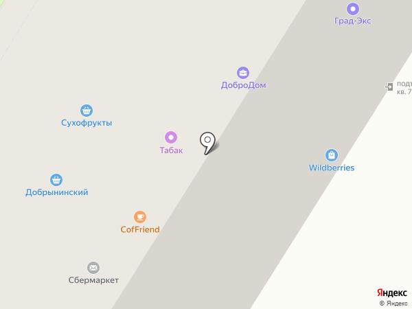 Золингер на карте Москвы