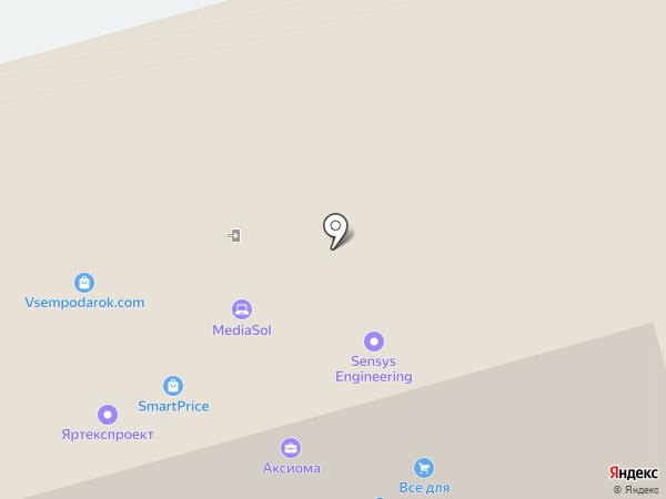 Лемминкяйнен Рус, ЗАО на карте Москвы